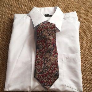 Christian Dior Monsieur silk tie made in USA